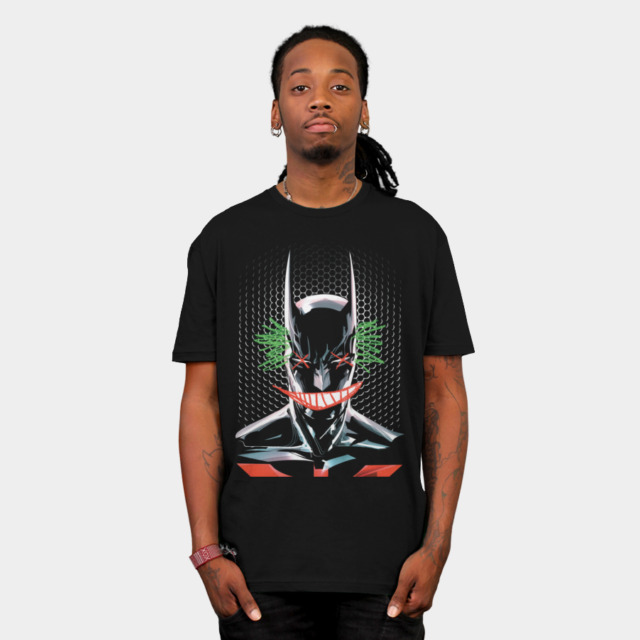 Jokers - Crayola Smile T-shirt Design by DCComics man t-shirt