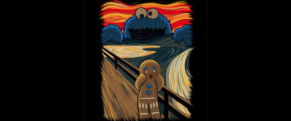 The Cookie Muncher T-shirt Design by IdeasConPatatas main image
