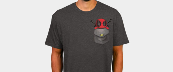 Deadpool Pocket T-shirt by Marvel design image