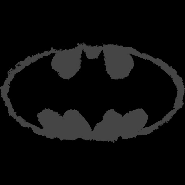 Distressed Bat Signal T-shirt Design by DCComics main design