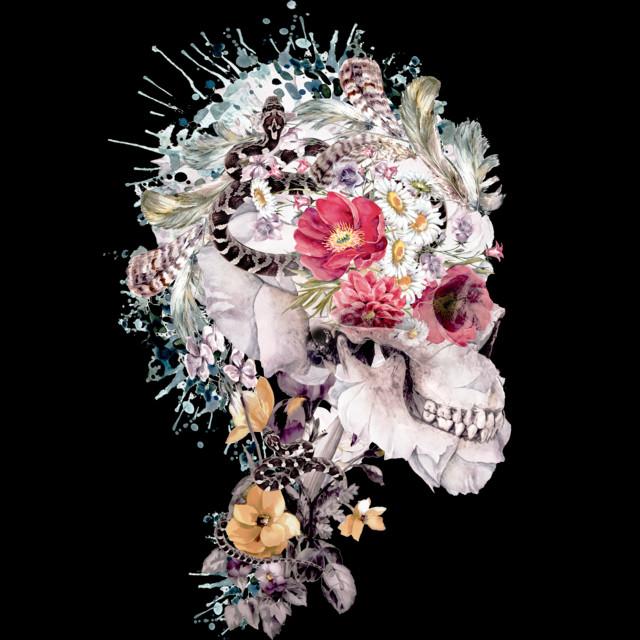 Skull XI T-shirt Design by rizapeker design