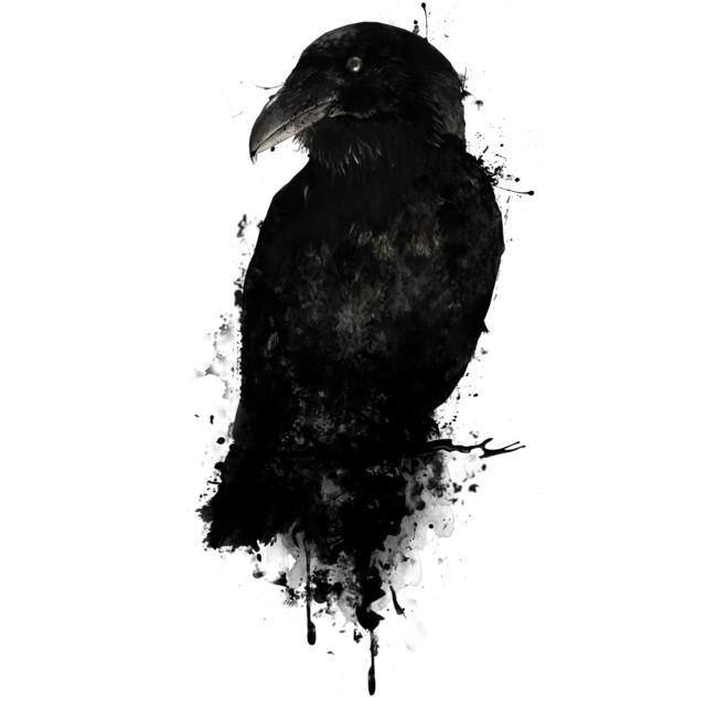 The Raven T-shirt Design by NGDesign design