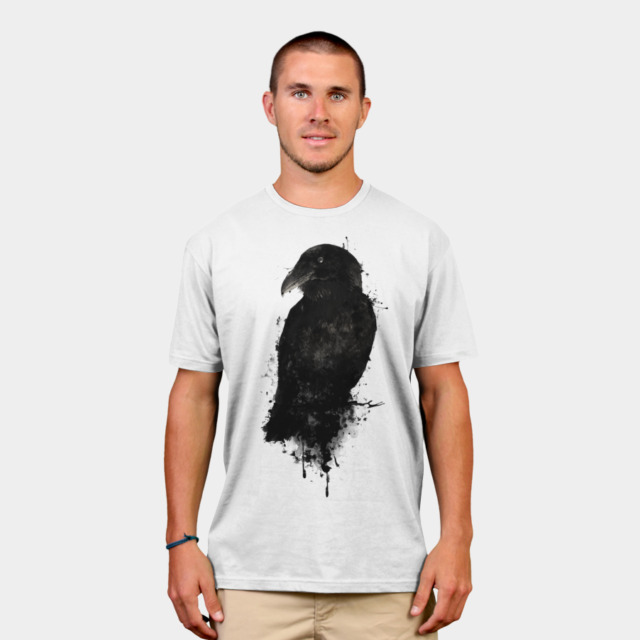 The Raven T-shirt Design by NGDesign man