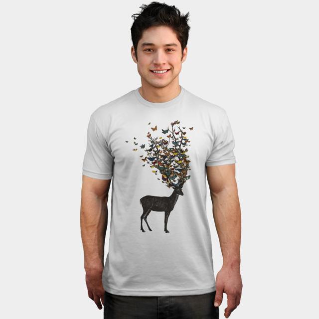 Wild Nature T-shirt Design by tobiasfonseca man