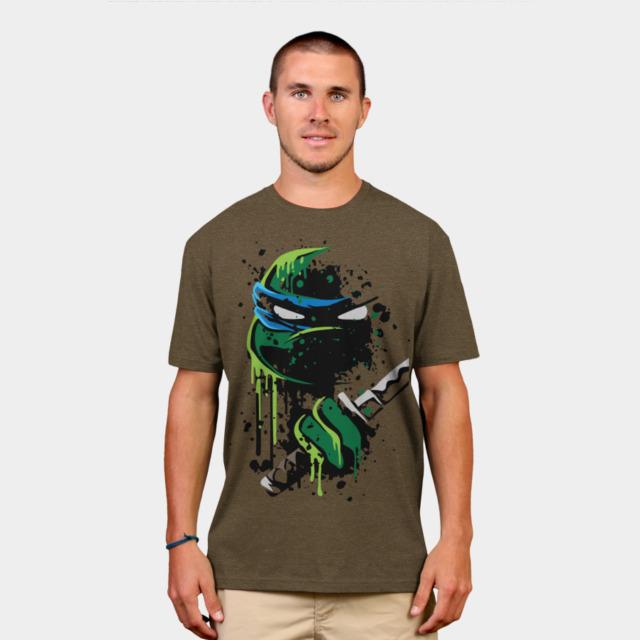 Cowabunga - Leo T-shirt Design by heavyplasma man