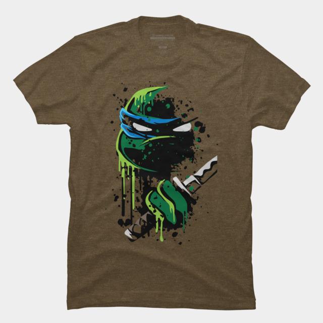 Cowabunga - Leo T-shirt Design by heavyplasma t-shirt