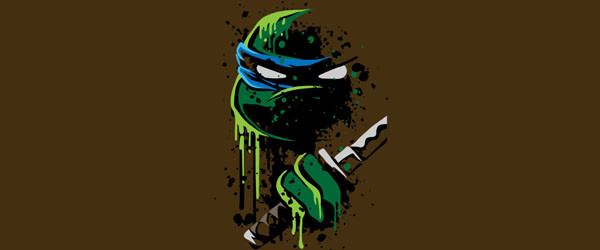 Cowabunga - Leo T-shirt Design by heavyplasmamain image