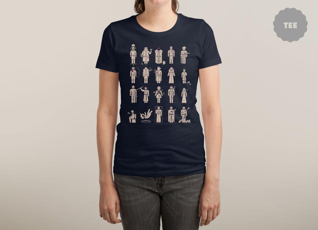 IN MEMORIAM T-shirt Design by Graja woman