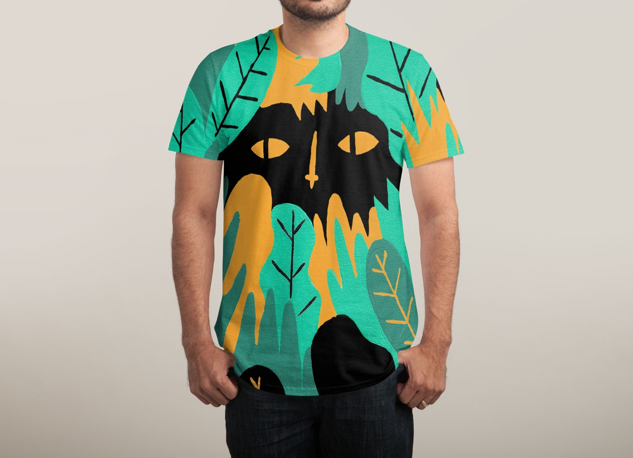 JUNGLE LOOKING BACK T-shirt Design by jbarnham man