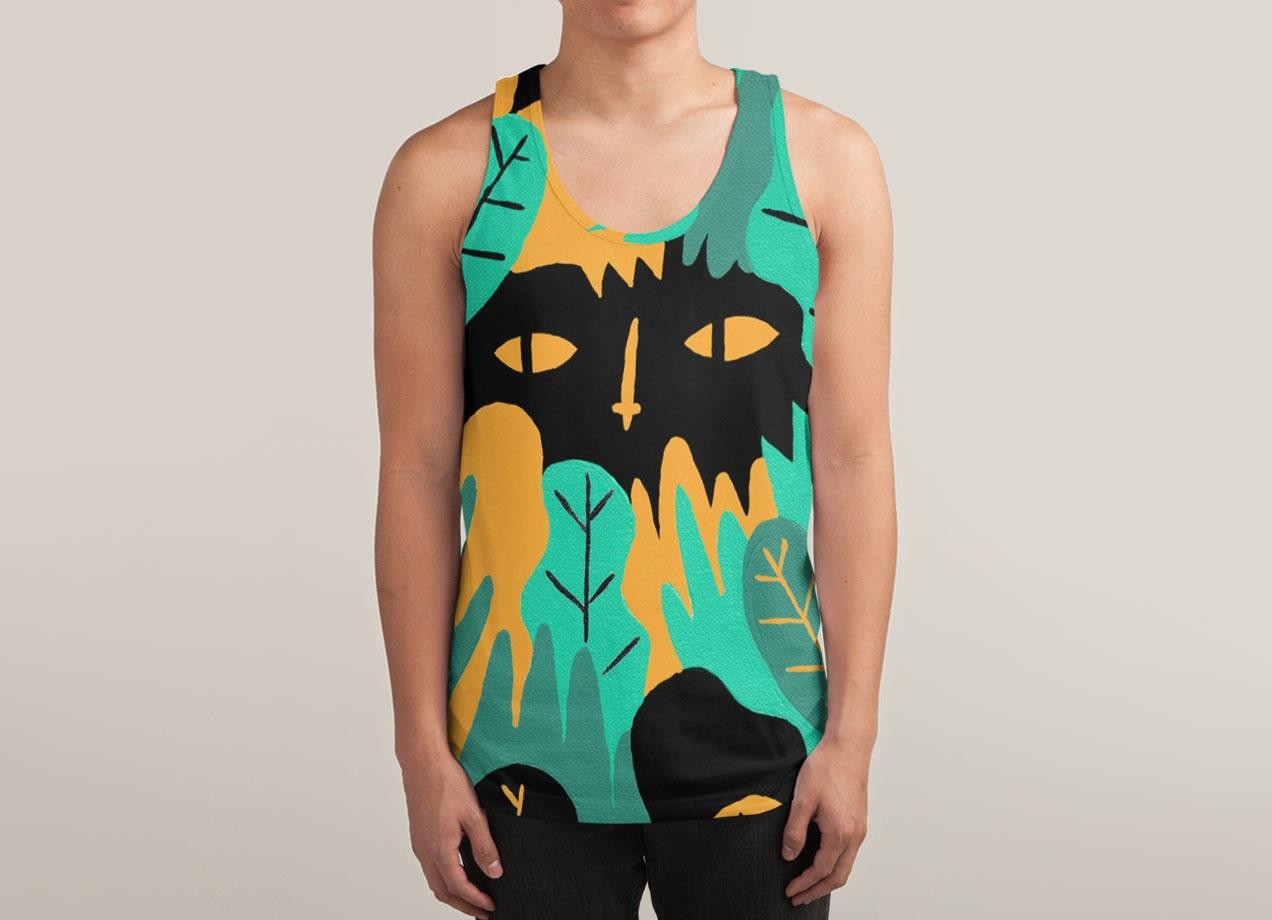 JUNGLE LOOKING BACK T-shirt Design by jbarnham tee man