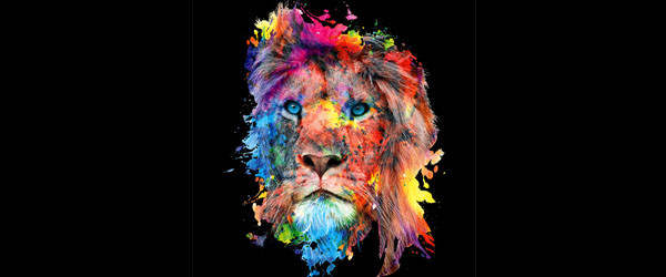 Lion T-shirt Design by rizapeker design main image