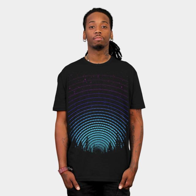 One Last Winter Night T-shirt Design by leech_ man
