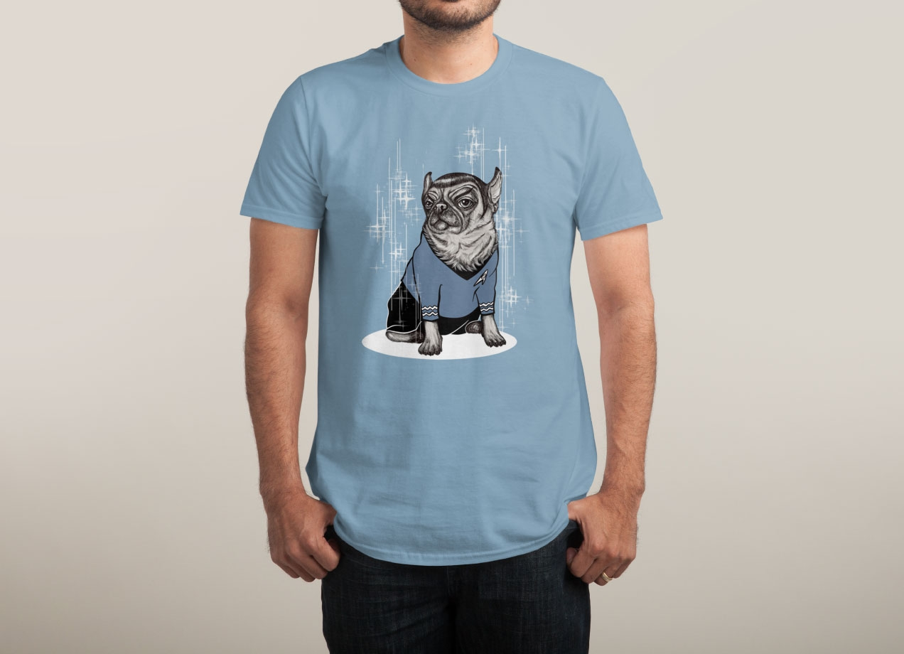 SPUG T-shirt Design by BlancaJP man
