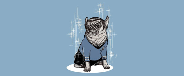 SPUG T-shirt Design by BlancaJP woman main image