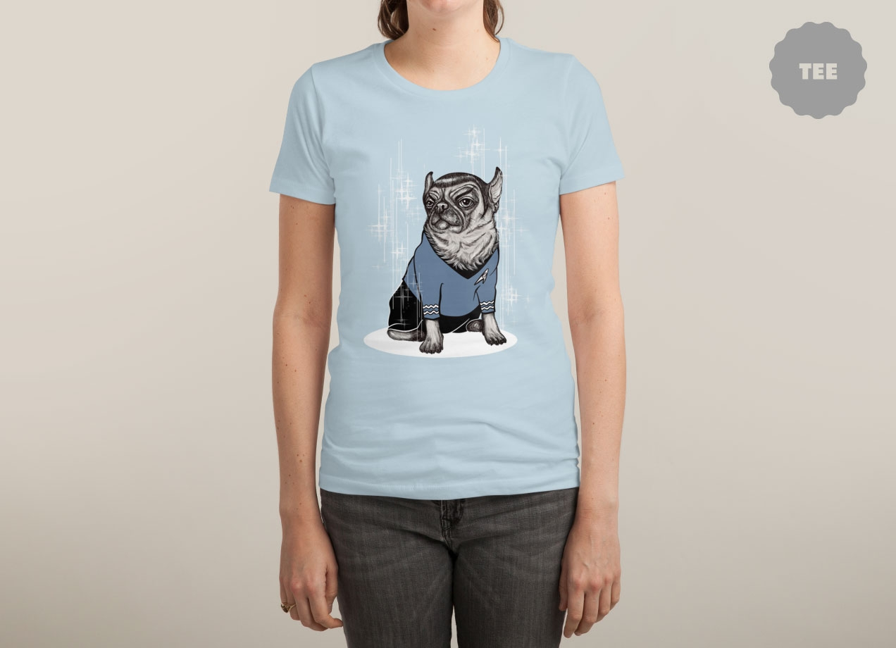 SPUG T-shirt Design by BlancaJP woman
