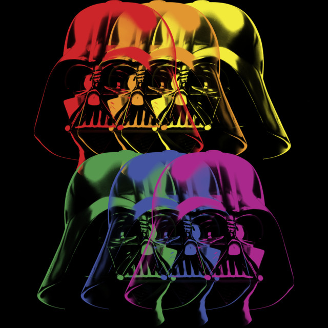 Vader in Color T-shirt Design by StarWars design