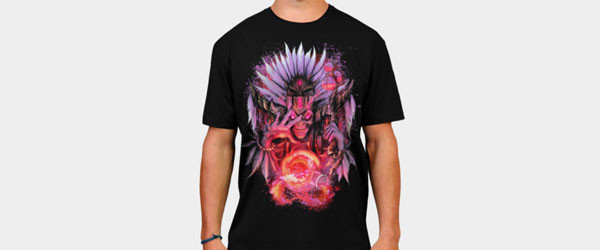 Witch Doctor T-shirt Design by ThrashParty main image