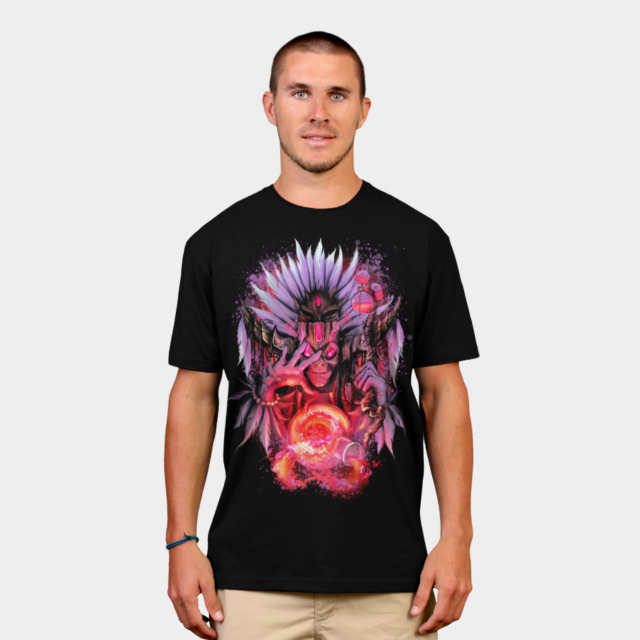 Witch Doctor T-shirt Design by ThrashParty man