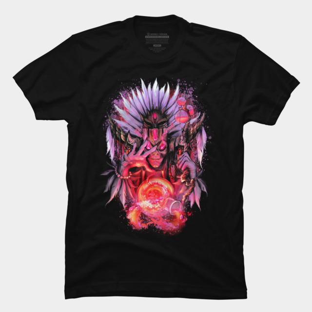 Witch Doctor T-shirt Design by ThrashParty t-shirt