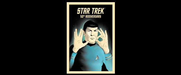 50 - LIVE LONG AND PROSPER T-shirt Design by Star Trek main image