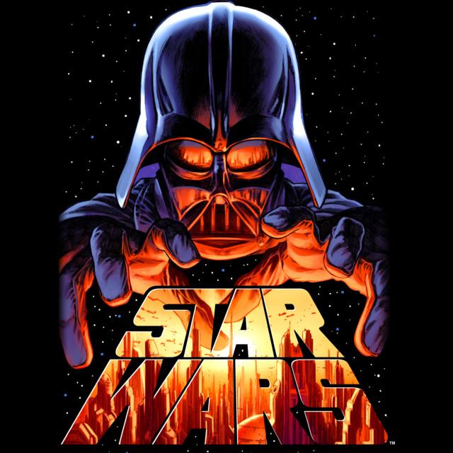 Darth Vader in Control T-shirt Design by StarWars