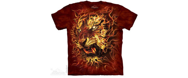 Fire Tiger T-shirt main image