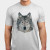 Low Poly Wolf T-shirt Apparel  JosePepin main image