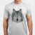 Low Poly Wolf T-shirt Apparel  JosePepin main image