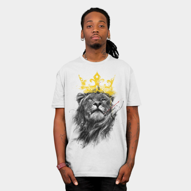 No King T-shirt Design by kdeuce man