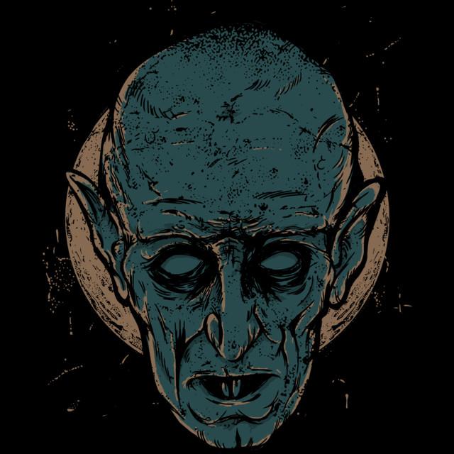 Nosferatu T-shirt Design by keimadness design