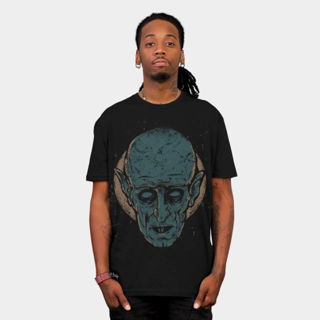 Nosferatu T-shirt Design by keimadness man