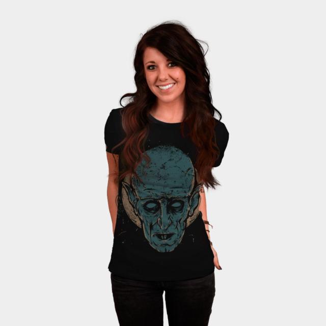 Nosferatu T-shirt Design by keimadness woman