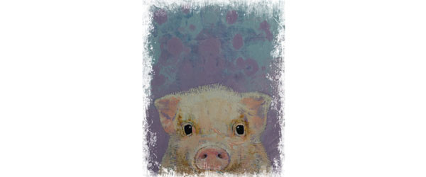 PIGLET T-shirt Design by creese main image