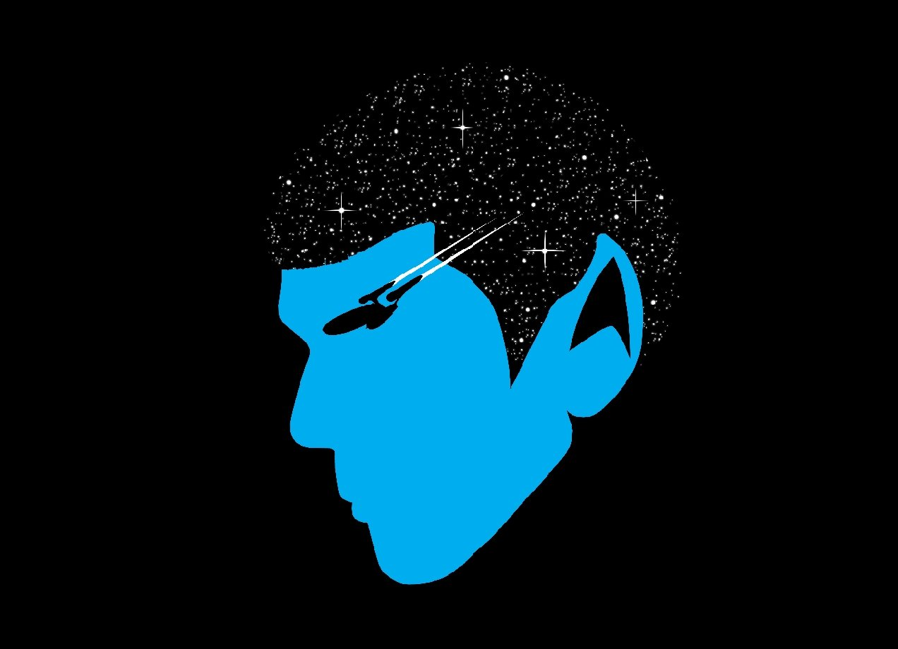 SPOCK t-shirt Design by RanyTotalLost