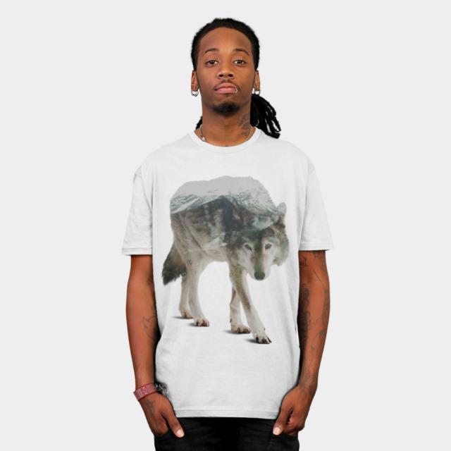Winter Hunter T-shirt Design by sookkol man