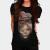 African Lion Girl T-shirt Design by MultimediaOne main