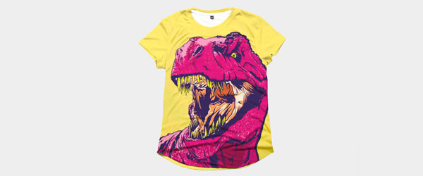 DINO FRENZY T-shirt Design by MR-NICOLO main