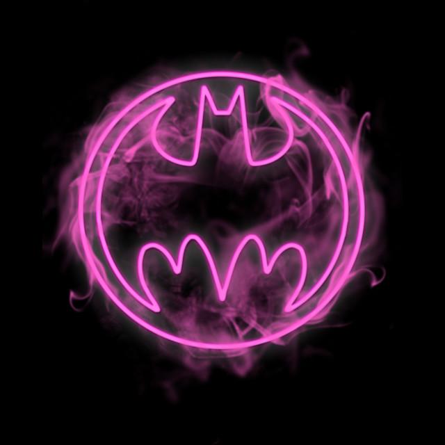 Neon Pink Bat Signal T-shirt Design by  DCComics