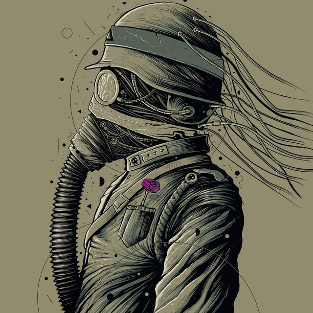 The Dark Officer T-shirt Design by roncabardz design