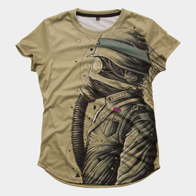 The Dark Officer T-shirt Design by roncabardz woman