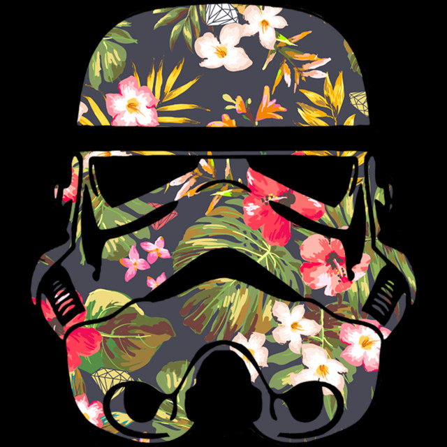 Tropical Stormtrooper T-shirt Design by StarWars design