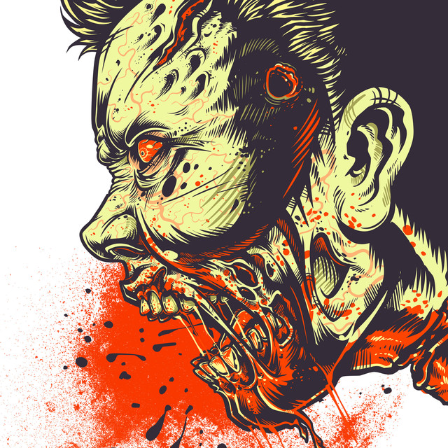 ZOMBIE FRENZY! T-shirt Design by MR-NICOLO design