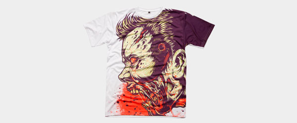 ZOMBIE FRENZY! T-shirt Design by MR-NICOLO main