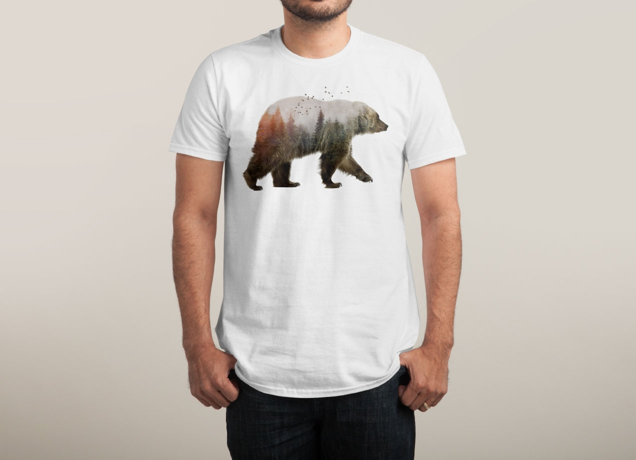 BEAR T-shirt Design by Sokol man