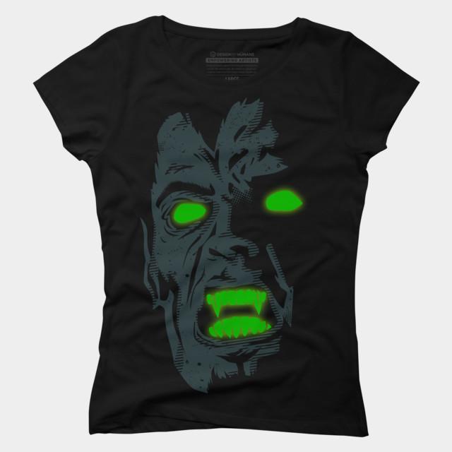 fear-t-shirt-design-by-arace-woman