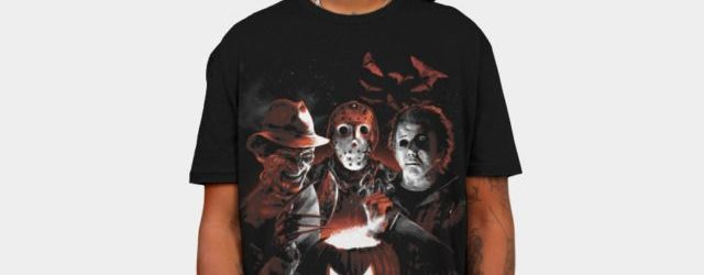 Halloween Scream Team T-shirt Design by Scott Jackson a.k.a. monstermangraphic man 1