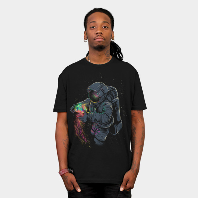 JellySpace T-shirt Design by Angoes25