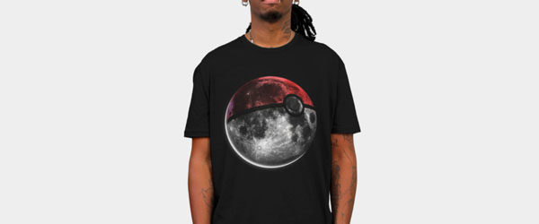 Pokemoon T-shirt Design by nicebleed manin