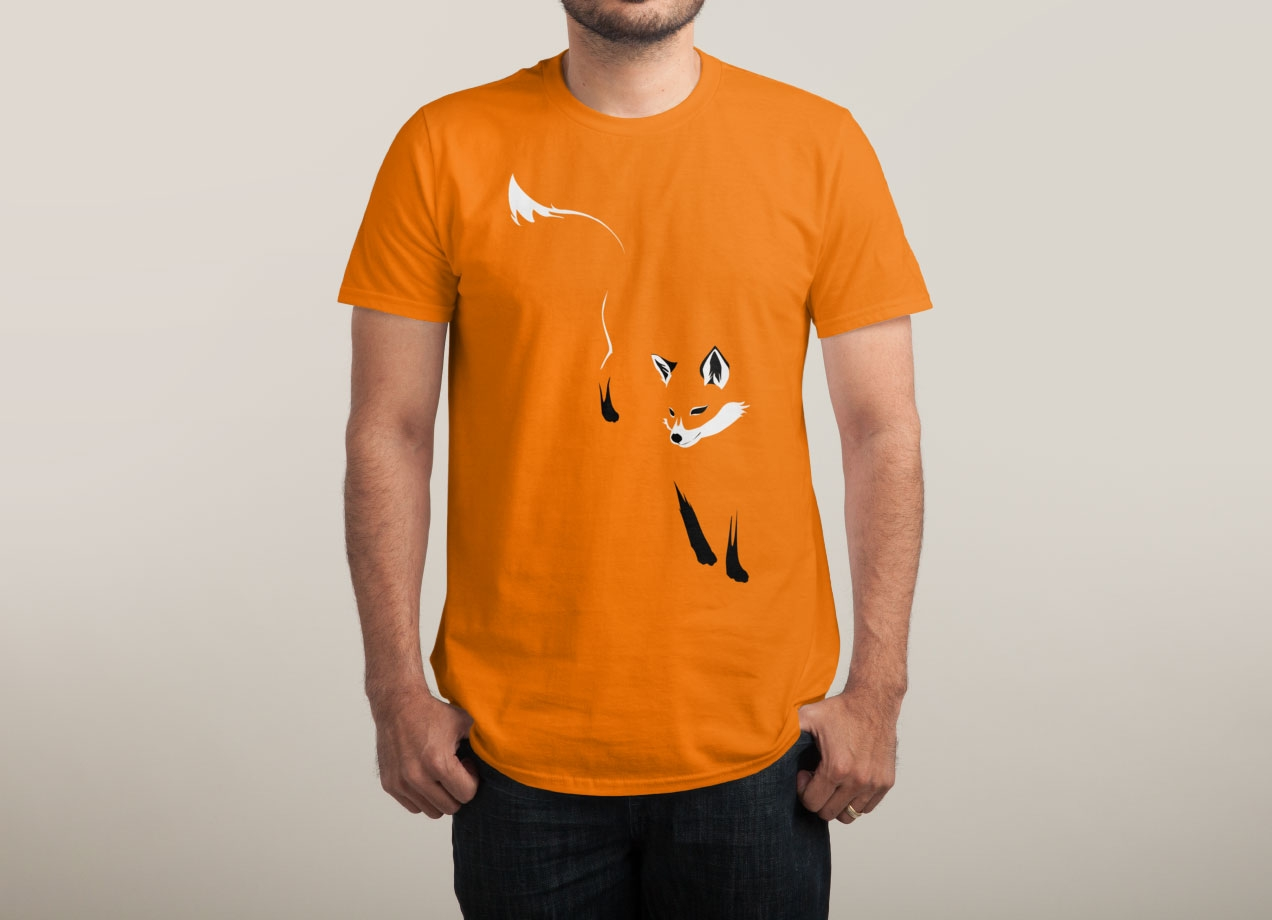 foxy-t-shirt-design-by-lixin-wang-man