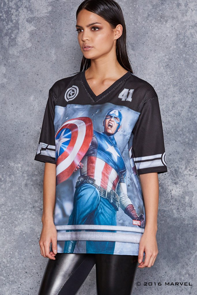 captain-america-touchdown-t-shirt-design-side